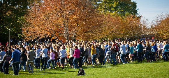college flash mob