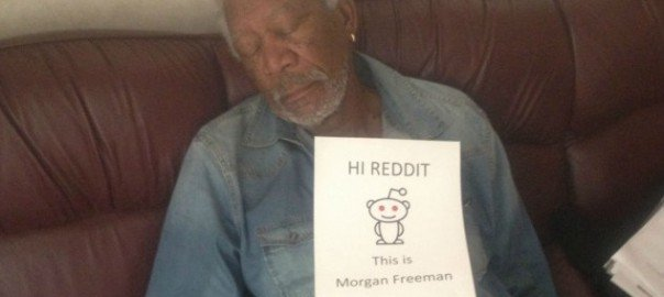 Morgan Freeman on Reddit