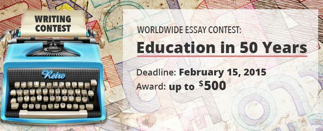 Essay Contest: Education In 50 Years