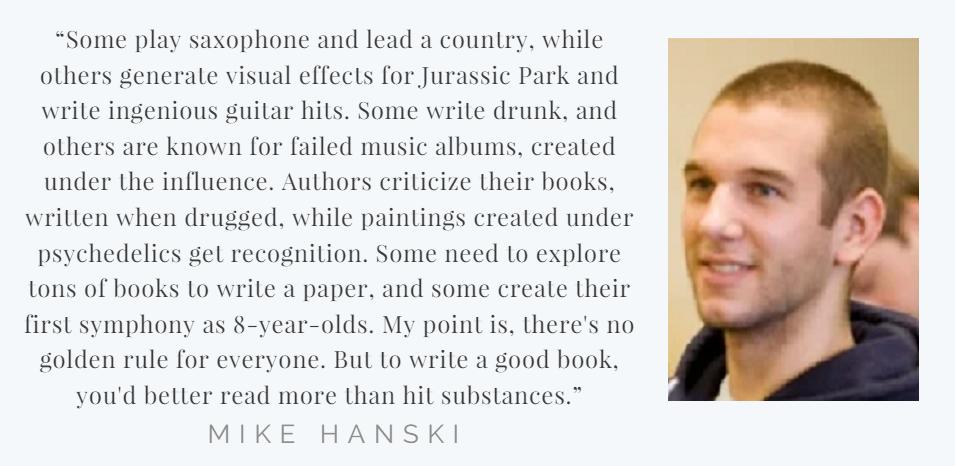 Mike Hanski quote
