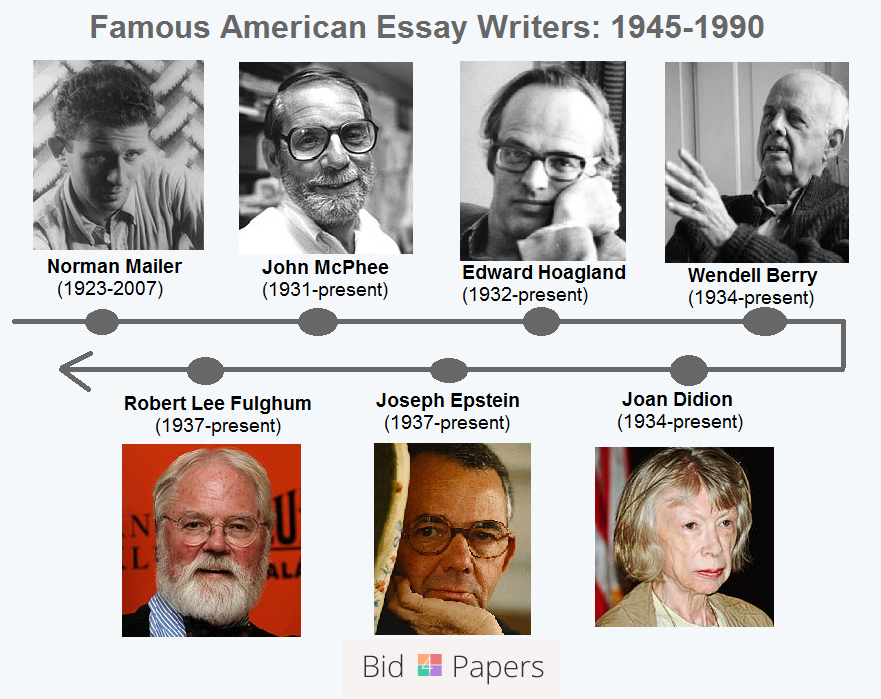 essays by famous american writers