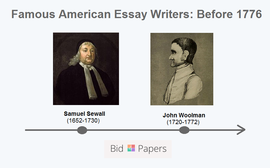 famous american essayists before 1776