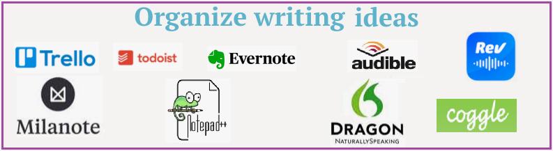 writing-apps-organize-ideas