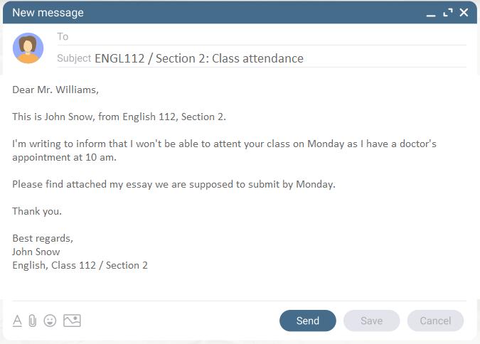 emailing teacher-template