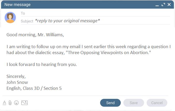 teacher-email-template