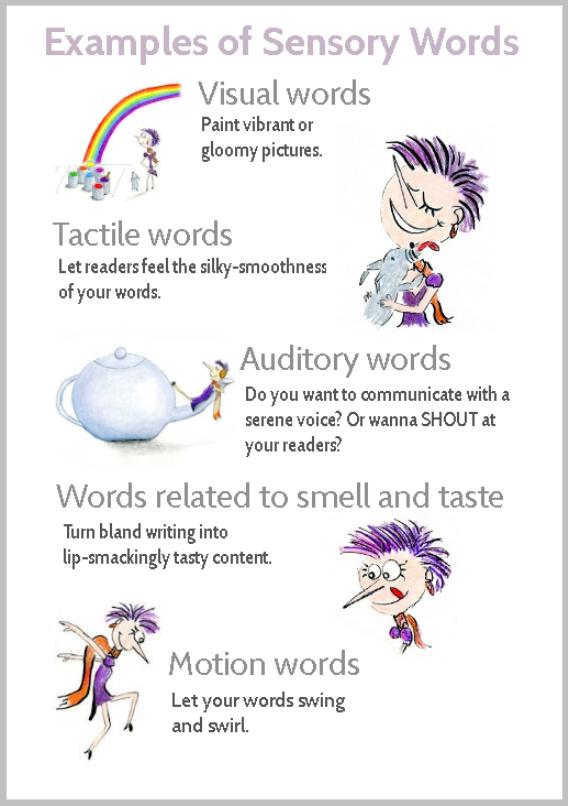 sensory-words